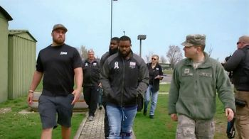 NFL TV Spot, 'Salute to Service: 2018 USO Tour' Featuring Carlos Dunlap, Mark Ingram, Ben Garland - 45 commercial airings