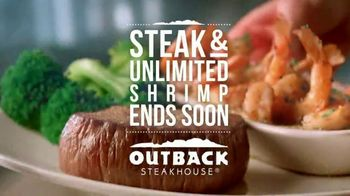 Outback Steakhouse Steak and Unlimited Shrimp TV Spot, 'More Shrimp' - Thumbnail 10