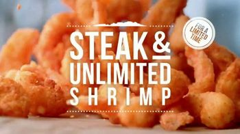 Outback Steakhouse Steak and Unlimited Shrimp TV Spot, 'More Shrimp' - Thumbnail 4
