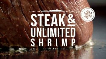 Outback Steakhouse Steak and Unlimited Shrimp TV Spot, 'More Shrimp' - Thumbnail 5