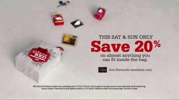 ACE Hardware Bag Sale TV Spot, 'Right Around the Corner' - Thumbnail 8