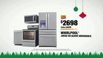 The Home Depot Black Friday Savings TV Spot, 'Juego de cocina Whirlpool' [Spanish] - Thumbnail 9
