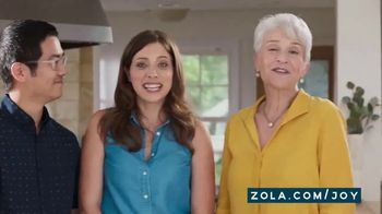 Zola TV Spot, 'All the Gifts We Wanted' - Thumbnail 6