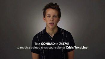 Lifetime TV Spot, 'Crisis Text Line' Featuring Austin P. McKenzie - Thumbnail 7