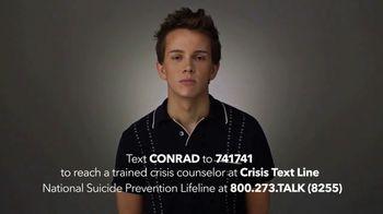 Lifetime TV Spot, 'Crisis Text Line' Featuring Austin P. McKenzie - Thumbnail 9