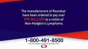 Shapiro Legal Group TV Spot, 'Roundup: $78 Million'