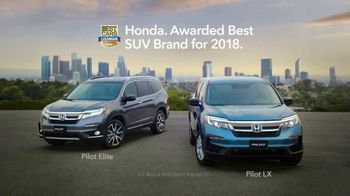 2019 Honda Pilot TV Spot, 'Why Not Pilot?' [T1] - Thumbnail 10