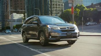 2019 Honda Pilot TV Spot, 'Why Not Pilot?' [T1] - Thumbnail 8