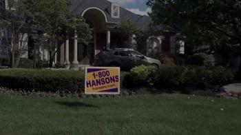 1-800-HANSONS TV Spot, 'Change: 55 Percent off a New Roof' - Thumbnail 1