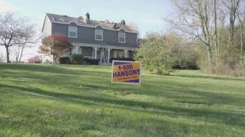 1-800-HANSONS TV Spot, 'Change: 55 Percent off a New Roof'