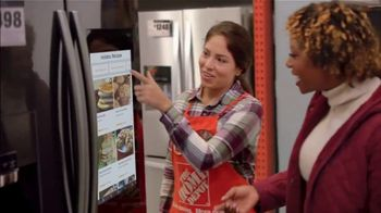 The Home Depot Black Friday Savings TV Spot, 'Holidays: Whirlpool Suite' - 726 commercial airings