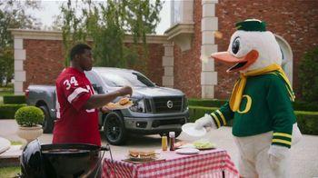Nissan TV Spot, 'Heisman House: BBQ' Featuring Herschel Walker, Marcus Mariota [T1] - 3 commercial airings