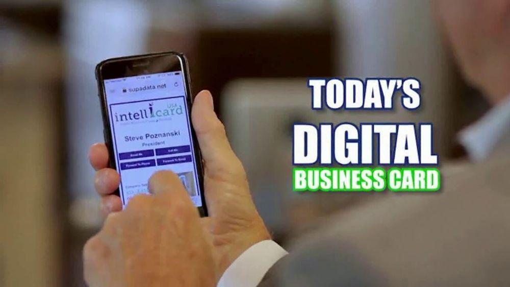 Intellicardusa Tv Commercial Todays Digital Business Card Ispot