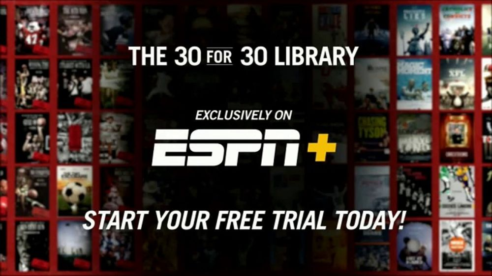 ESPN Plus TV Commercial, '30 for 30 Library' - Video