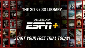 ESPN Plus TV Spot, \'30 for 30 Library\'