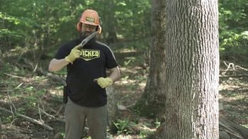 Wicked Tree Saw TV Spot, 'Mini Chainsaw' Featuring Kip Campbell - 66 commercial airings