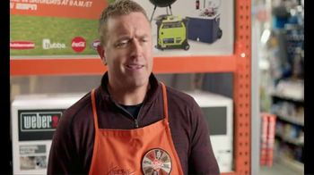 The Home Depot TV Spot, 'ESPN: Game Day: Gas Blower' Feat. Desmond Howard, Lee Corso - Thumbnail 2
