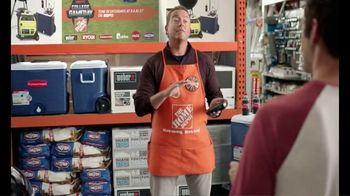 The Home Depot TV Spot, 'ESPN: Game Day: Gas Blower' Feat. Desmond Howard, Lee Corso - Thumbnail 5