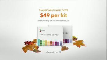 23andMe Thanksgiving Family Offer TV Spot, 'Our DNA Family' - Thumbnail 10