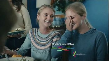 23andMe Thanksgiving Family Offer TV Spot, 'Our DNA Family' - 6464 commercial airings