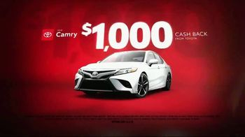Toyota Black Friday Takeover TV Spot, '2019 Corolla and 2018 Camry' [T2] - Thumbnail 5