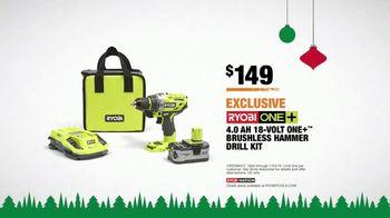 The Home Depot TV Spot, '2018 Holidays: Ryobi Kit: Power Tool or Battery' - Thumbnail 10