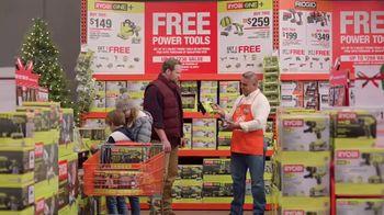 The Home Depot TV Spot, '2018 Holidays: Ryobi Kit: Power Tool or Battery' - Thumbnail 2