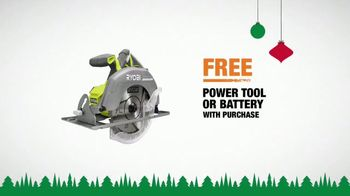 The Home Depot TV Spot, '2018 Holidays: Ryobi Kit: Power Tool or Battery' - Thumbnail 9