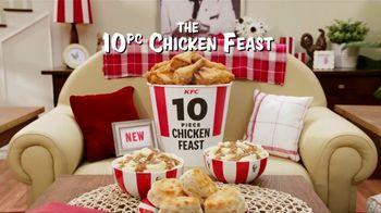 KFC 10 Piece Chicken Feast TV Spot, 'Get it All' - Thumbnail 2