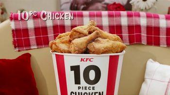KFC 10 Piece Chicken Feast TV Spot, 'Get it All' - Thumbnail 6