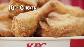 KFC 10 Piece Chicken Feast TV Spot, 'Get it All' - Thumbnail 7