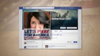 CBN Let's Pray for America TV Spot, 'Take the Pledge' - Thumbnail 6