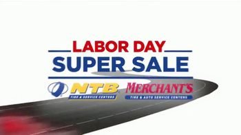National Tire & Battery Labor Day Super Sale TV Spot, 'Buy Two Get Two'