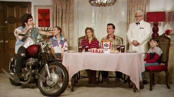 KFC 10-Piece Chicken Feast TV Spot, 'Motorcycle' Featuring Jason Alexander