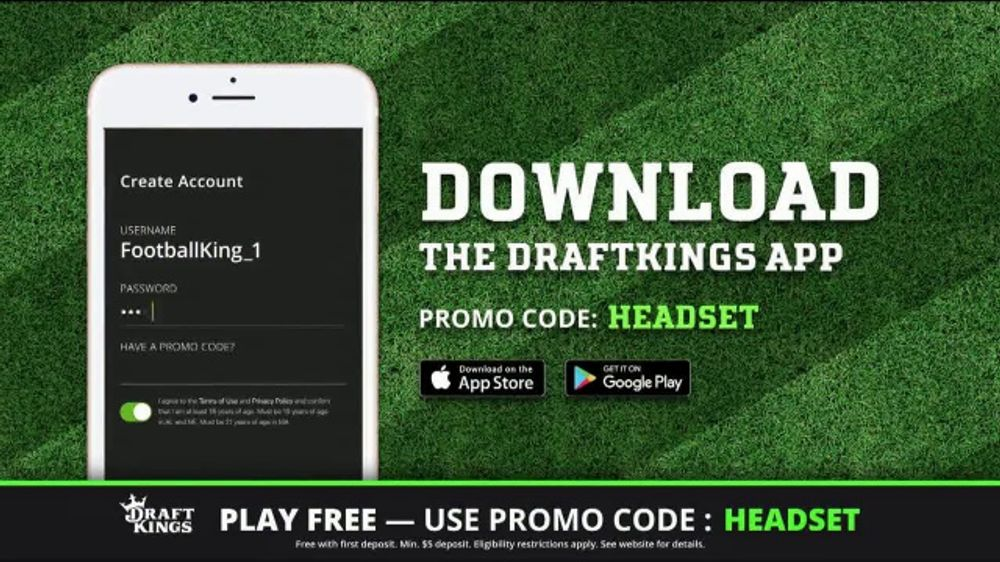 DraftKings Play-Action Contest TV Commercial, 'Football is Back' - Video