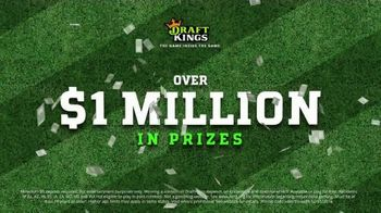 DraftKings Play-Action Contest TV Spot, 'Football is Back' - Thumbnail 10
