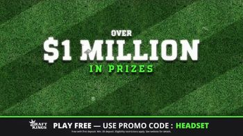 DraftKings Play-Action Contest TV Spot, 'Football is Back' - Thumbnail 4