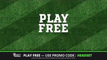 DraftKings Play-Action Contest TV Spot, 'Football is Back' - Thumbnail 5