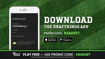 DraftKings Play-Action Contest TV Spot, 'Football is Back'