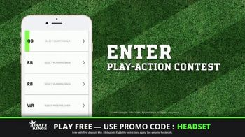 DraftKings Play-Action Contest TV Spot, 'Football is Back' - Thumbnail 7
