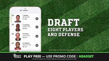 DraftKings Play-Action Contest TV Spot, 'Football is Back' - Thumbnail 8