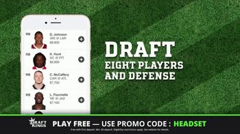 DraftKings Play-Action Contest TV Spot, 'Football is Back' - Thumbnail 9