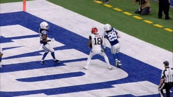 Bridgestone TV Spot, 'Clutch Performance: Bengals vs. Colts' - 1 commercial airings