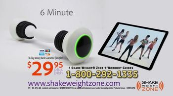 Shake Weight Zone TV Spot, 'Bio Feedback' - Thumbnail 10