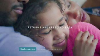 Leesa Fall Mattress Sale TV Spot, 'Hugs My Body' - Thumbnail 7