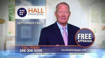 Hall Financial TV Spot, 'Free September Appraisal'