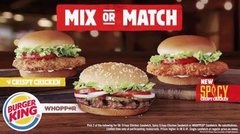 Burger King 2 for $6 Mix or Match TV Spot, 'The Grand Hustle' - Thumbnail 7