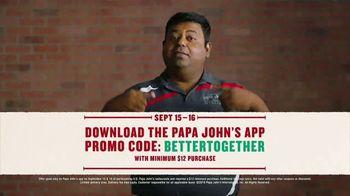 Papa John's Large 1-Topping Pizza TV Spot, 'Pizza on Us' - Thumbnail 10