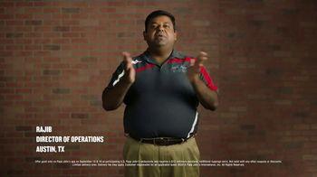 Papa John's Large 1-Topping Pizza TV Spot, 'Pizza on Us'