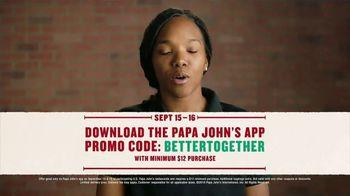 Papa John's Large 1-Topping Pizza TV Spot, 'Pizza on Us' - Thumbnail 9
